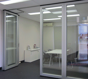 Glass Operable Wall |